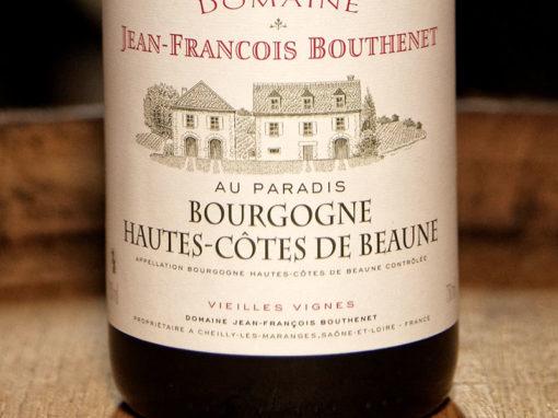 Bourgogne Hautes côtes de Beaune Rouge «Au Paradis»